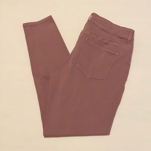 Maurices Mauve Jeggings